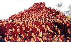 Tibetan Buddhist Lamas Infiltration